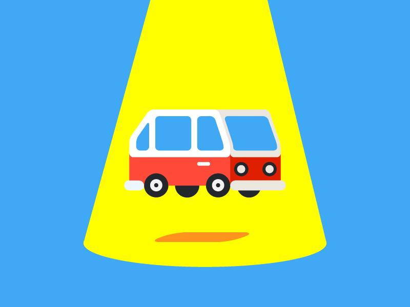 Flying van